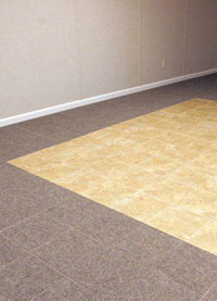 basement floor finishing contractor