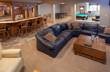 When finishing your basement floor there are four common ways to put down the carpeting & Waterproof Basement Floor Matting | Basement Carpet Titles Schenectady