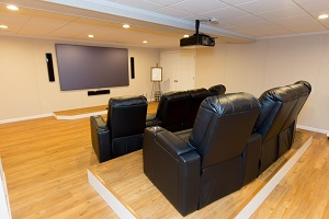 Basement Theater Installed In Albany